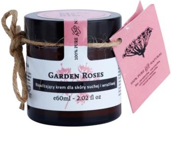 Make Me BIO Face Care Garden Roses creme hidratante para pele seca a sensível