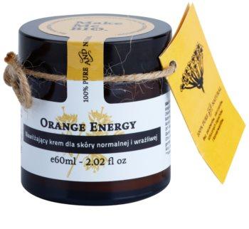 Make Me BIO Face Care Orange Energy hidratáló krém normál és érzékeny bőrre