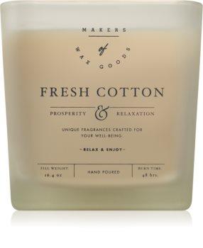 Makers of Wax Goods Fresh Cotton vonná svíčka