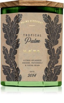 Makers of Wax Goods Palms Hideaway Tropical Palm Tuoksukynttilä