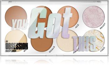 Makeup Obsession You Got This paletă de farduri pentru obraji