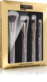 Makeup Obsession Weapon Of Choice Brushes kit de pinceaux (visage) pour femme