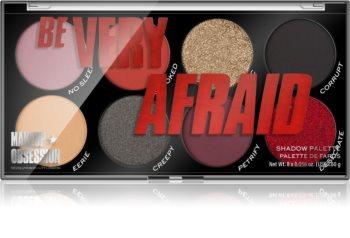 Makeup Obsession Be Very Afraid szemhéjfesték paletta