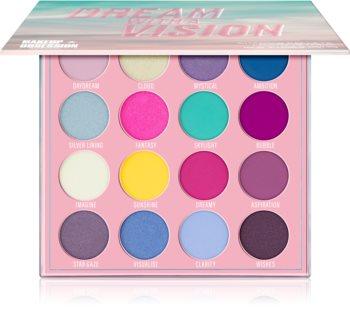 Makeup Obsession Dream With A Vision szemhéjfesték paletta