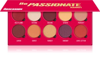 Makeup Obsession Be Passionate About Eyeshadow Palette