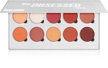 Makeup Obsession Be Obsessed With paletă cu farduri de ochi