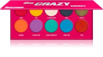 Makeup Obsession Be Crazy About paleta cieni do powiek