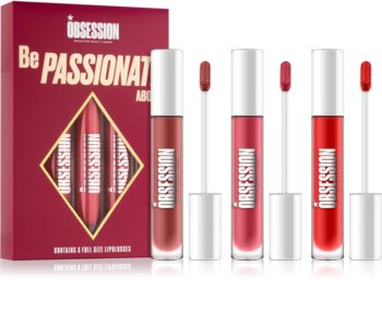 Makeup Obsession Be Passionate About kit lèvres