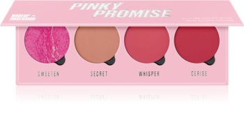 Makeup Obsession Pinky Promise palette de blush