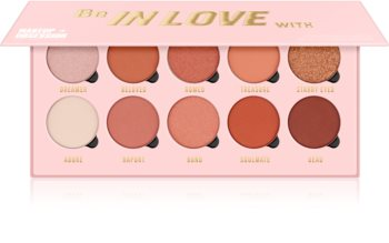 Makeup Obsession Be In Love With paletka očních stínů