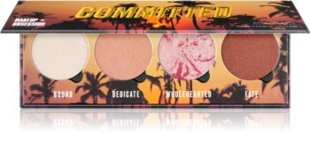 Makeup Obsession Committed paleta para el rostro