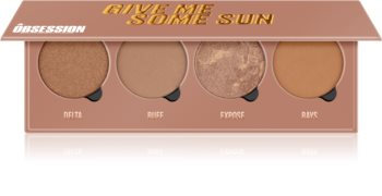 Makeup Obsession Give Me Some Sun paleta bronzerov