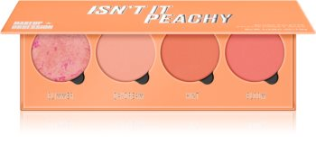 Makeup Obsession Isn't It Peachy paleta de blushes