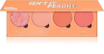 Makeup Obsession Isn't It Peachy палитра с ружове