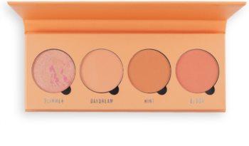 Makeup Obsession Isn't It Peachy arcpirosító paletta