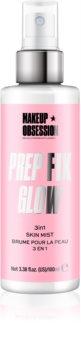 Makeup Obsession Prep Fix Glow spray fixant illuminateur