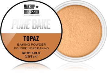 Makeup Obsession Pure Bake matující sypký pudr