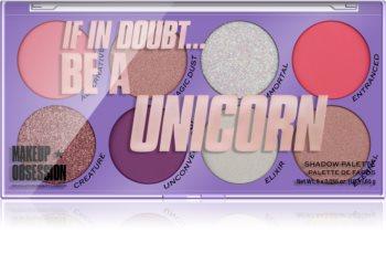 Makeup Obsession Be A Unicorn paleta de sombras de ojos