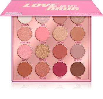 Makeup Obsession Love Is My Drug szemhéjfesték paletta