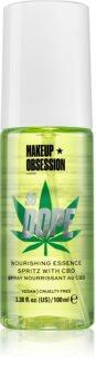 Makeup Obsession So Dope vyživující a hydratační sprej na obličej