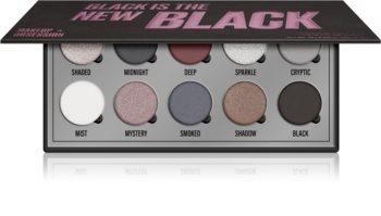 Makeup Obsession Black Is The New Black palette di ombretti