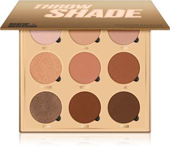Makeup Obsession Throw Shade Púderes highlight és kontúr paletta