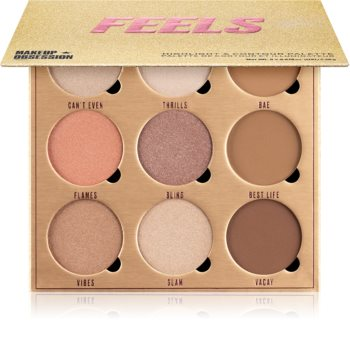 Makeup Obsession Feels Contouring and Highlighting Palette