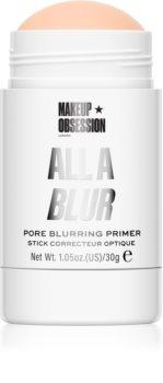 Makeup Obsession All A Blur glättender Primer unter das Make-up