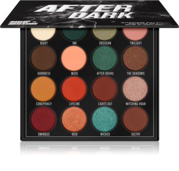 Makeup Obsession After Dark palette de fards à paupières