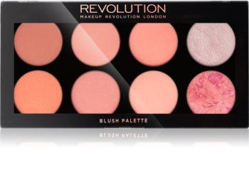 Makeup Revolution Ultra Blush paleta líceniek
