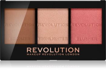Makeup Revolution Ultra Sculpt & Contour paleta na kontury obličeje