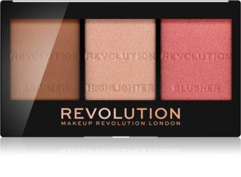 Makeup Revolution Ultra Sculpt & Contour paleta za konturiranje lica