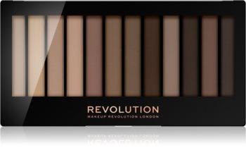 Makeup Revolution Essential Mattes 2 палетка теней для век