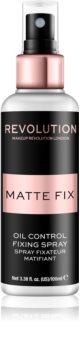 Makeup Revolution Pro Fix matující fixační sprej na make-up