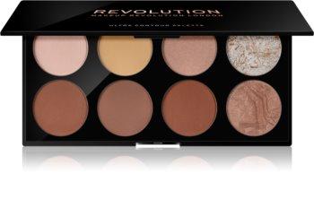 Makeup Revolution Ultra Contour paleta za konture lica