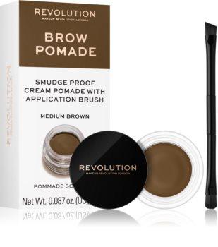 Makeup Revolution Brow Pomade szemöldök pomádé