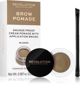 Makeup Revolution Brow Pomade pomada para cejas