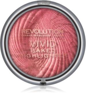 Makeup Revolution Vivid Baked égetett élénkítő púder