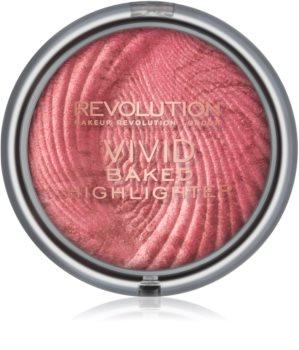 Makeup Revolution Vivid Baked poudre illuminatrice cuite