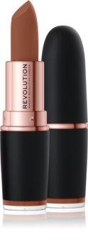 Makeup Revolution Iconic Matte Nude червило  с матиращ ефект