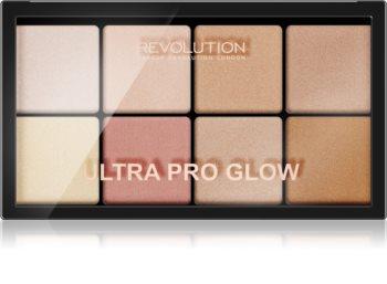 Makeup Revolution Ultra Pro Glow bőrvilágosító paletta
