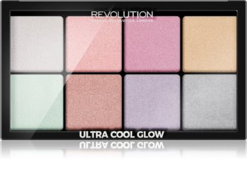 Makeup Revolution Ultra Cool Glow Highlighter-Palette