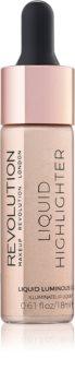 Makeup Revolution Liquid Highlighter flüssiger Aufheller