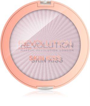 Makeup Revolution Skin Kiss rozjasňovač na oči a tvář