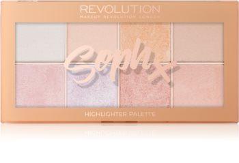 Makeup Revolution Soph X paleta rozjasňovačov
