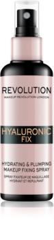 Makeup Revolution Hyaluronic Fix make-up fixáló spray hidratáló hatással