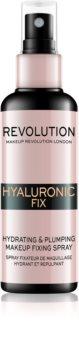 Makeup Revolution Hyaluronic Fix Make-up Fixierspray mit feuchtigkeitsspendender Wirkung