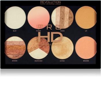 Makeup Revolution Pro HD Brighter Than My Future palette di illuminanti