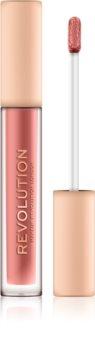 Makeup Revolution Nudes Collection Matte szminka w płynie