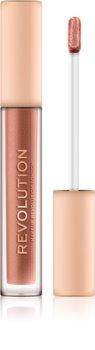 Makeup Revolution Nudes Collection Metallic metalický tekutý rúž
